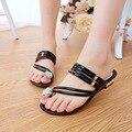 Sapatas das mulheres sandália Verão 2016 sapatos da moda Strass mulheres sandália nova