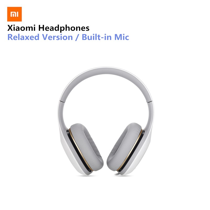 Original Xiaomi Headphone Wired with Built-in Mic Support Noise Cancelling Headset Headphones Comfort цена 2017