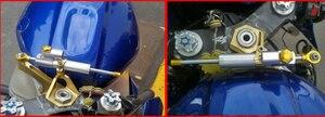 Image 5 - Voor HONDA CB600 CB 600 CB600 HORNET CB600F Universal Motorcycle CNC Aluminium Steering Dempers Stabilizer Veiligheid Controle