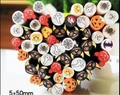 Wholesale Polymer 3D 100pcs/lotx 50pcs/pack Nail Art 3D  Fimo Rods Canes Polymer Clay DIY Decoration Nail Beauty+GEF201
