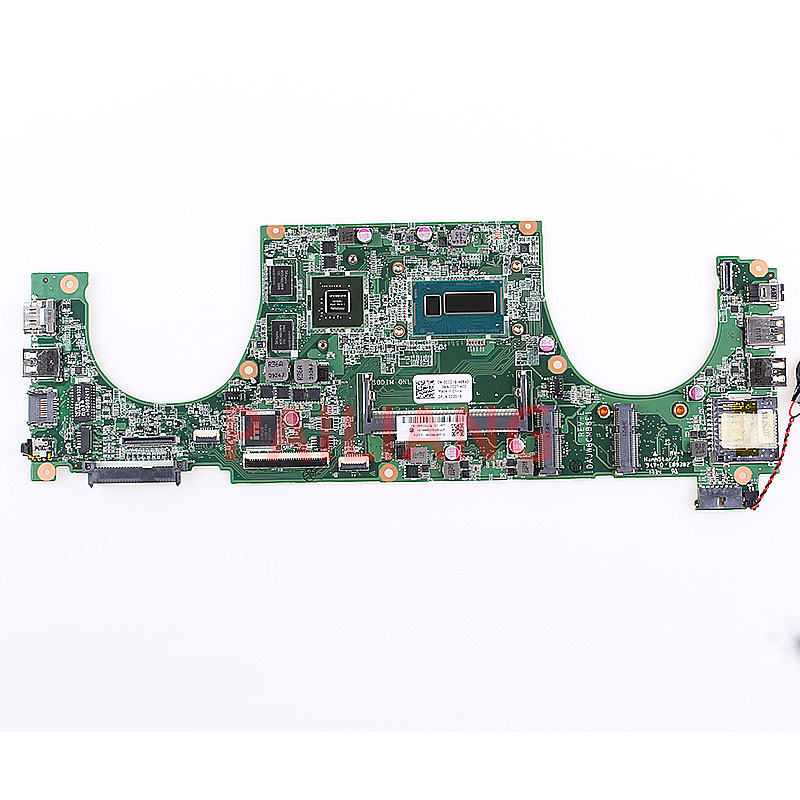 PAILIANG Laptop motherboard for DELL Vostro 5470 V5470 PC Mainboard I3-4010U 002DY8 DAJW8CMB8E1 tesed DDR3