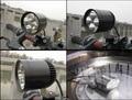 motorcycle light motorbike headlight 4*U2 Cree led chip 35W 3500lumens waterproof LED motorcycle spotlight headlight kits