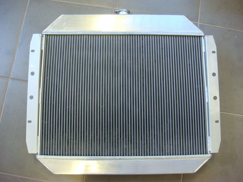 3 Row All Aluminum Radiator for 1967-1981 Ford F-100 F-150 F-250 F-350 Pickup