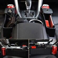 Распродажа! Кожаный боковой карман органайзер для автомобиля ящик на сидение Gap хранение с максимальным использованием полезной площади коробка