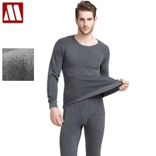 2019 New Arrival Thermal Underwear Sets Male Autumn Winter Thick Warm