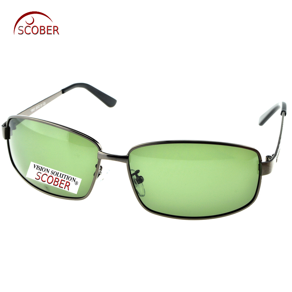 = SCOBER = Velkoobjemové pánské pánské značkové sluneční brýle Polarizované sluneční brýle na zakázku, krátkozraké minus diody na předpis -1 až -6