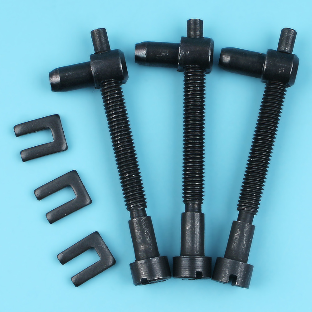 3 X Chain Adjusting Screw Bolt Tensioner For HUSQVARNA 61 66 162 181 266 268 272 281 288 Chainsaw Replacement Parts 501 53 71-01
