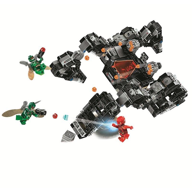Bela Marvel Batman Flash Kinghtcrawler Tunnel Attack Avengers Infinity War Super Hero Building Blocks Bricks Compatible Legoe