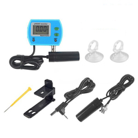 New Style 2 in 1 Water Quality Tester LCD Monitor Online pH / EC Meter Acidometer EU