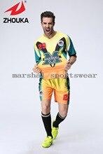 Hot sale!! 2016 New Comfortable style Men soccer jerseys custom