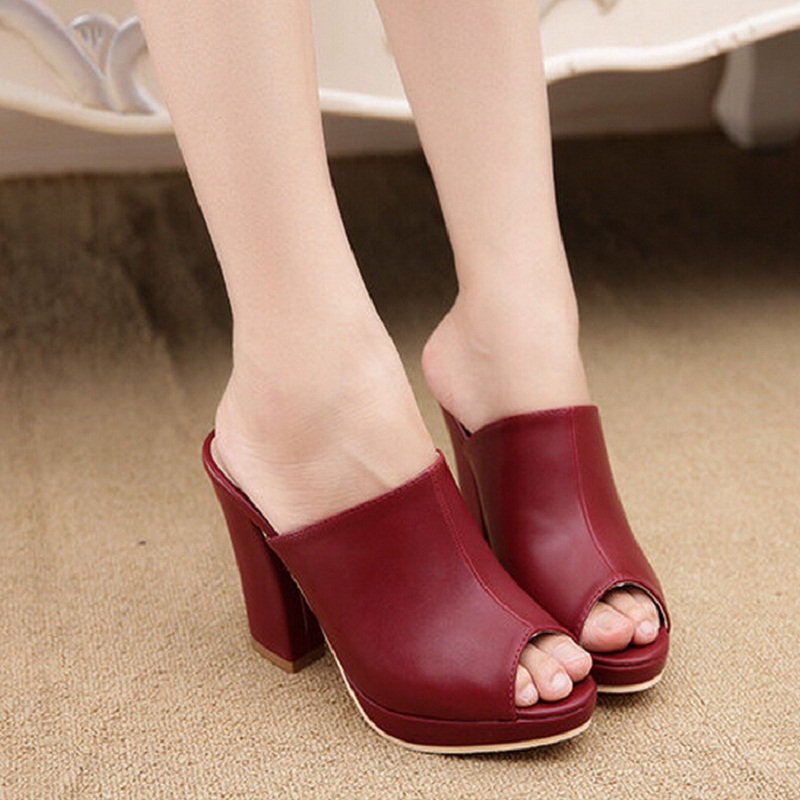 Popular High Heel Lady Shoes