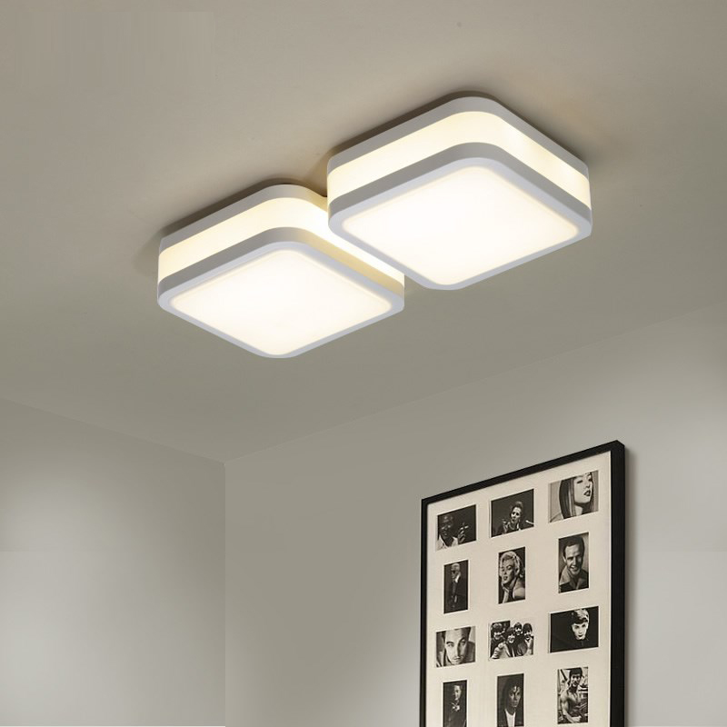 LED ceiling lamp bedroom lamp warm and modern simple office study LED lighting creative atmosphere living room ceiling lights цена