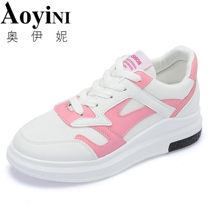 2018 New Women Canvas Shoes Casual Lace-Up Cute Spring Candy Colors Ladies Flats White Pink Shoes Woman renben women canvas shoes 2017 fashion flats women casual white shoes breathable canvas lace up candy colors shoes 6e06