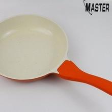 Master Star 24 см литье под давлением сковорода утолщенная антипригарная керамическая сковорода с длинной ручкой Индукционная Сковорода Из Алюминия Прямая поставка