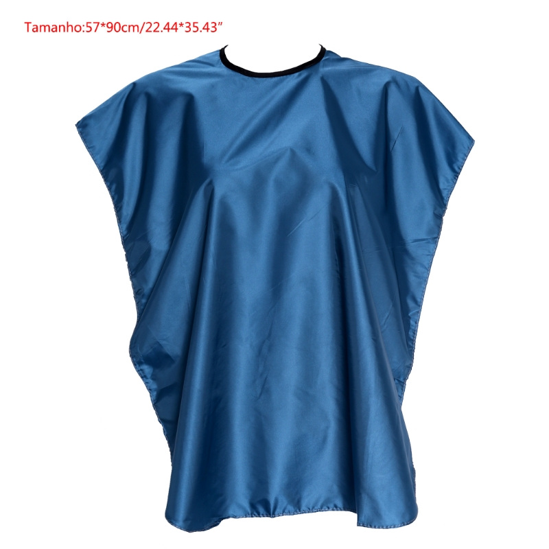 1 Set Salon Kids Waterproof Hair Cut Haircut Hairdressing Barbers Cape Gown Cloth New