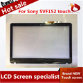 "NEW 15.6"" Laptop Replacement Touch Screen Digitizer Glass For Sony VAIO SVF152 SVF152A29M SVF15212SN with frame"