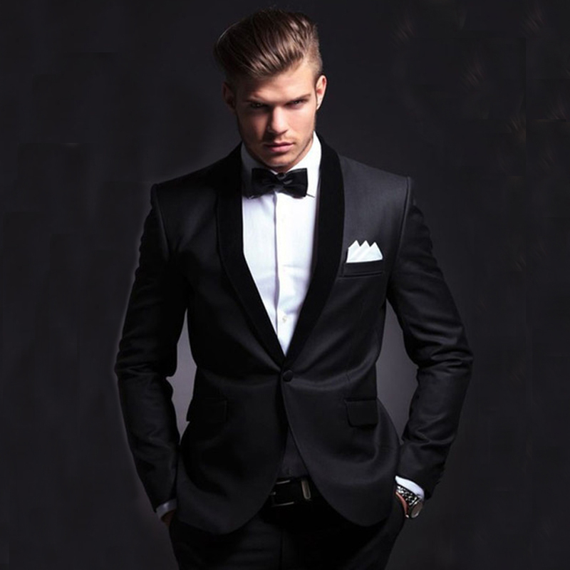 Fashion Men Suit 2017 Slim Fit Men Suits Latest Coat Pant Design Wedding Party Blazer Groom Tuxedos Costume Homme Jacket+pants