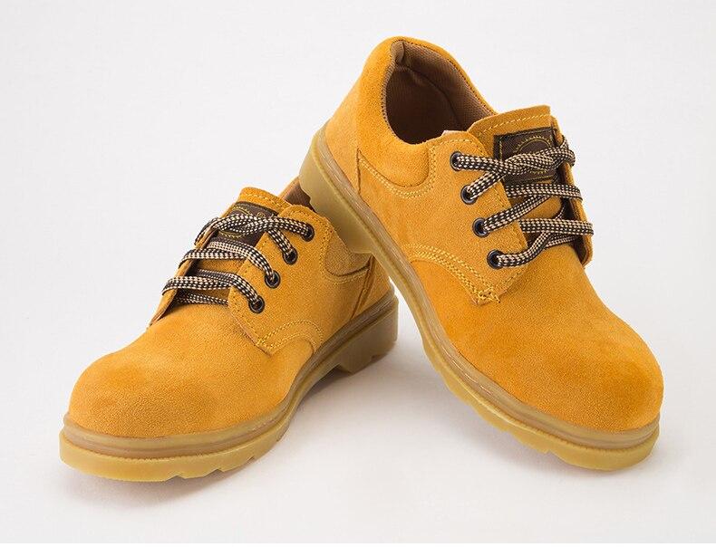 1 Paar Schutz Schuhe, Anti-smashing Und Stichschutzkleidung Sicherheit Schuhe, Sehne Unten, Low Zu Helfen öl-resistant Protective Schuh Zu Hohes Ansehen Zu Hause Und Im Ausland GenießEn