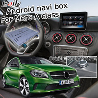 Android gps навигатор видео интерфейс для Mercedes benz класс W176 NTG 5,0 Audio20 команда видео бокс интерфейса carplay