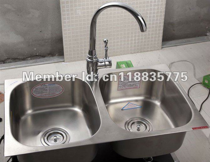 Attirant Fashion New 71*41 Hight Quality Stainless Steel Double Bowls Kitchen  Sink In Kitchen Sinks From Home Improvement On Aliexpress.com   Alibaba  Group
