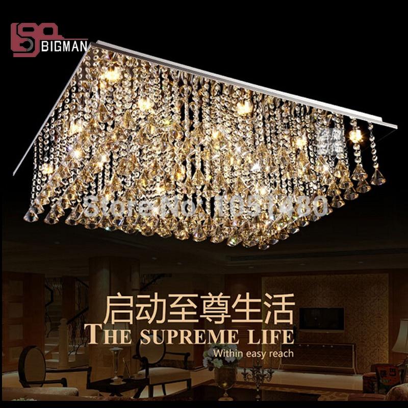 new diamond crystal ball lighting fixtures modern led ceiling lights for living room
