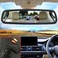Conjuntos de Câmera de Visão Traseira do carro Para Mercedes Benz W251 R 2006 ~ 2013/Back Up Reverter Câmera com 5 polegadas Monitor de Espelho Retrovisor Do Carro tela