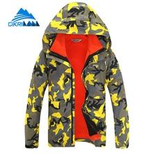 Camo Warm Snowboard Climbing 2in1 Winter Outdoor Jacket Men Jaqueta Masculina Waterproof Windstopper Hiking Camping Skiing Coat