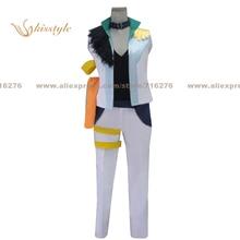 Kisstyle moda de uta no prince sama jinguji ren etapa desgaste uniforme cos ropa cosplay