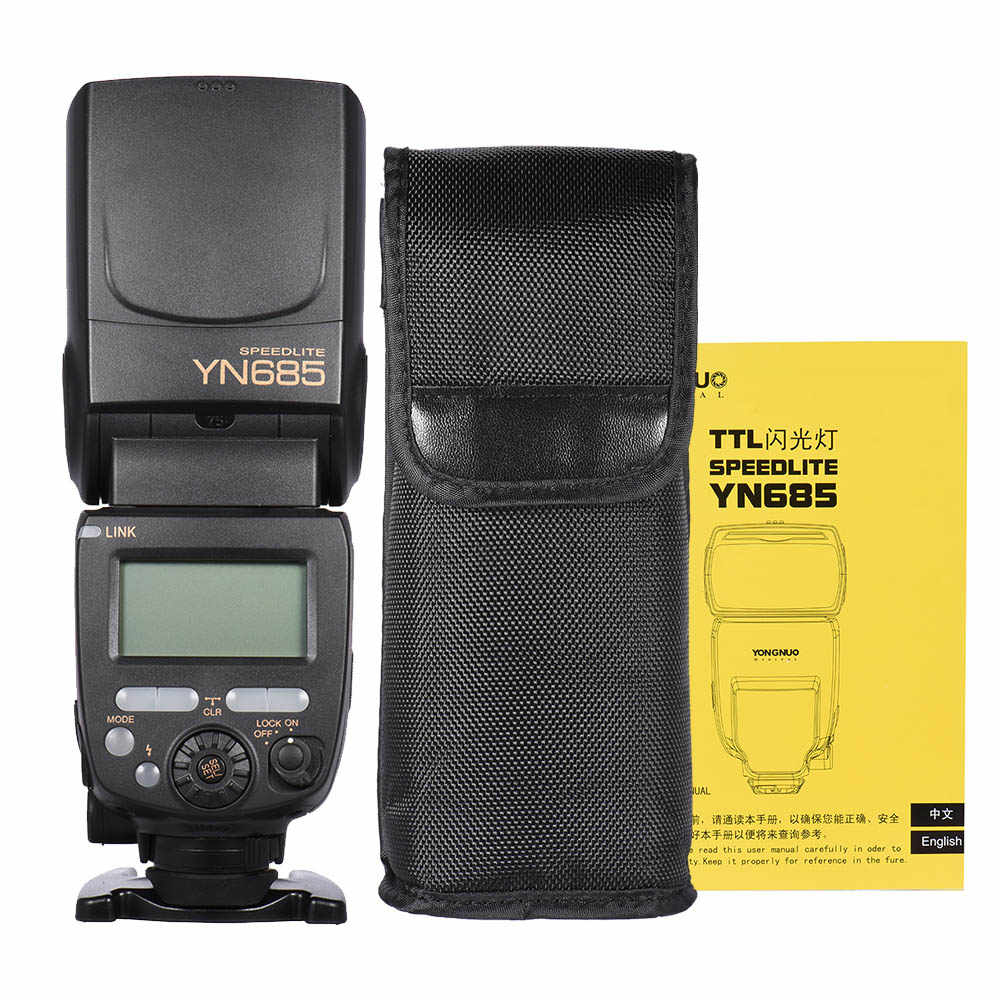 YONGNUO YN685 беспроводная 2,4G HSS ttl/i ttl вспышка Speedlite для Canon Nikon D750 D810 D7200 D610 D7000 DSLR камера Вспышка Speedlite