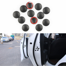 12Pc Car Door Lock Screw Protector Cover Auto Accessories For Skoda Octavia A2 A5 A7 Fabia Rapid Superb Yeti Roomster