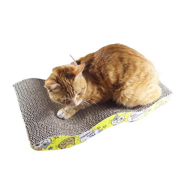 Handmade Cats  Scratching Post Interactive Training