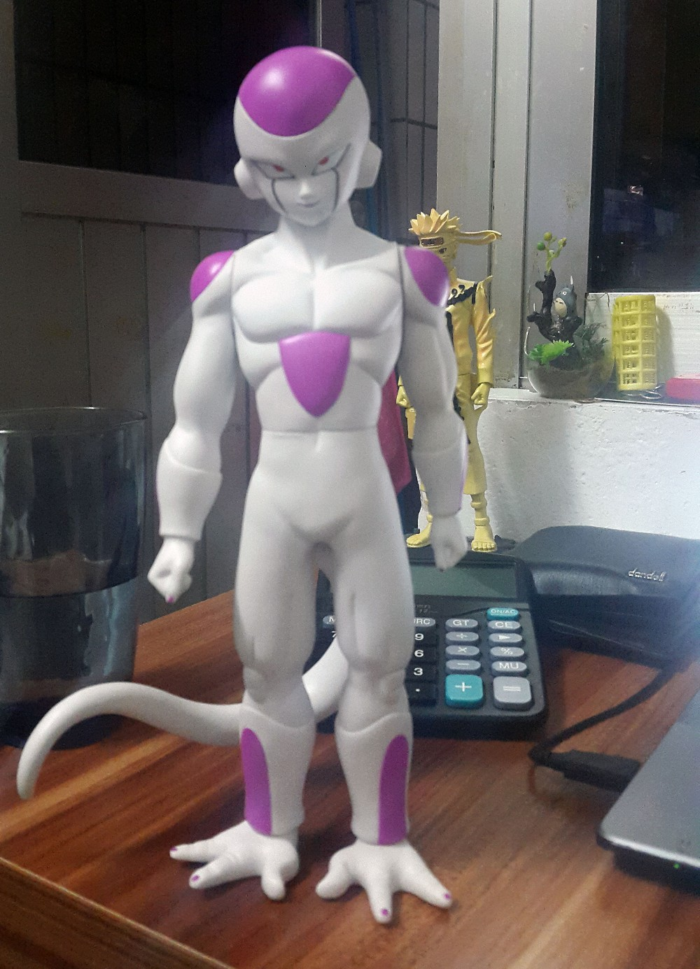 NEW Hot 1pcs 27cm Dragon Ball Z DragonBall pink Frieza PVC Action Figure toys Christmas gift toy