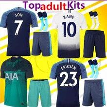 774095a78ac 2018 2019 adult kit Tottenhames Home away Soccer Jersey KANE LAMELA JANSSEN  TRIPPIER DEMBELE Son SPURS kits Football Shirts