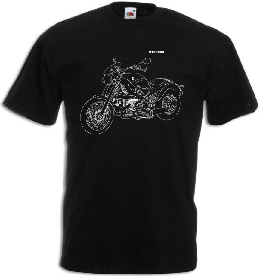 "2019 mode R1200C T-Shirt mit der Grafik R 1200C Motorcycyle Rally R 1200 C ""Motorrad-Fahrer"" T hemd"