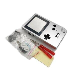 Image 4 - حافظة كاملة الإسكان شل استبدال ل Gameboy جيب لعبة وحدة التحكم ل GBP شل مع أزرار عدة
