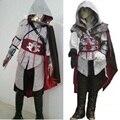 Assassins creed traje para niños cosplay mujeres altair ezio connor edward enfant chicos hombres capucha assassins creed disfraces de halloween