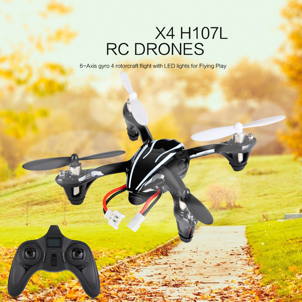 mini rc drone X4 H107L 2.4GHz 6-axis with HD 2MP camera remote control Quadcopter RTF remote control toy model child best gifts mini drone rc helicopter quadrocopter headless model drons remote control toys for kids dron copter vs jjrc h36 rc drone hobbies