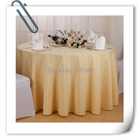 Hot Sale 10pcs Light Yellow Plain Restaurant Hotel Table Cloth For Weddings Parties Hotels Restaurant