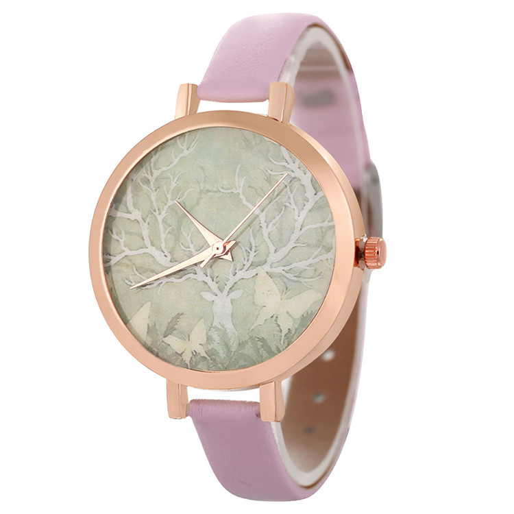 SANYU Luxury Women Fashion Watches female Wristwatches Lady Leather Stra Gift Clocks