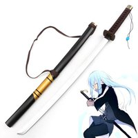 That Time I Got Reincarnated as a Slime Rimuru Tempest Weapon Props Cosplay Prop Samurai Wooden Sword