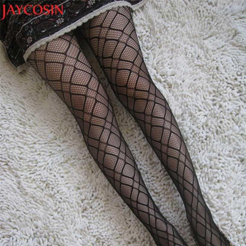 419f9b44e ... JAYCOSIN Tights Lace Sexy Stockings Female Thigh High Women s Net  Fishnet Bodystockings Pattern Pantyhose Tights Stockings ...