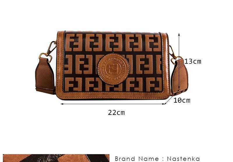2019 Sac Femme Luxury Handbags Women Bags Designer Leather Crossbody Bag For Women Shoulder Bag Ladies Messenger Bags Letter (2)