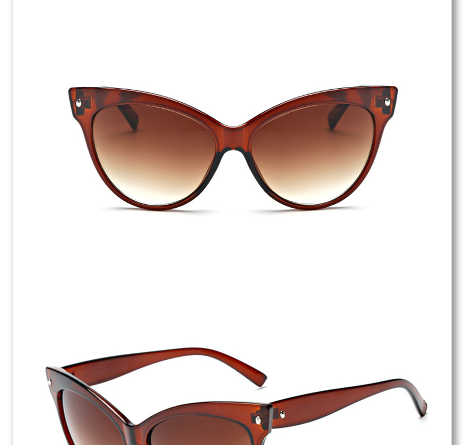 079b6defd5da5 Cateye Rétro lunettes de Soleil Femmes Lunettes de Soleil Femmes Cat Eye  Femmes Lunettes Concepteur de Marque En Gros LIVRAISON GRATUITEUSD  17.00 piece