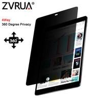 PET Filtro de Privacidade de 360 graus Para 7.9 polegada mini iPad 1/mini 2/mini 3 protetor de Tela Anti-reflexo película Protetora