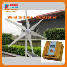 MAYLAR@ 1PC 400W 6blades High efficiency wind generater +1 PC MPPT controller