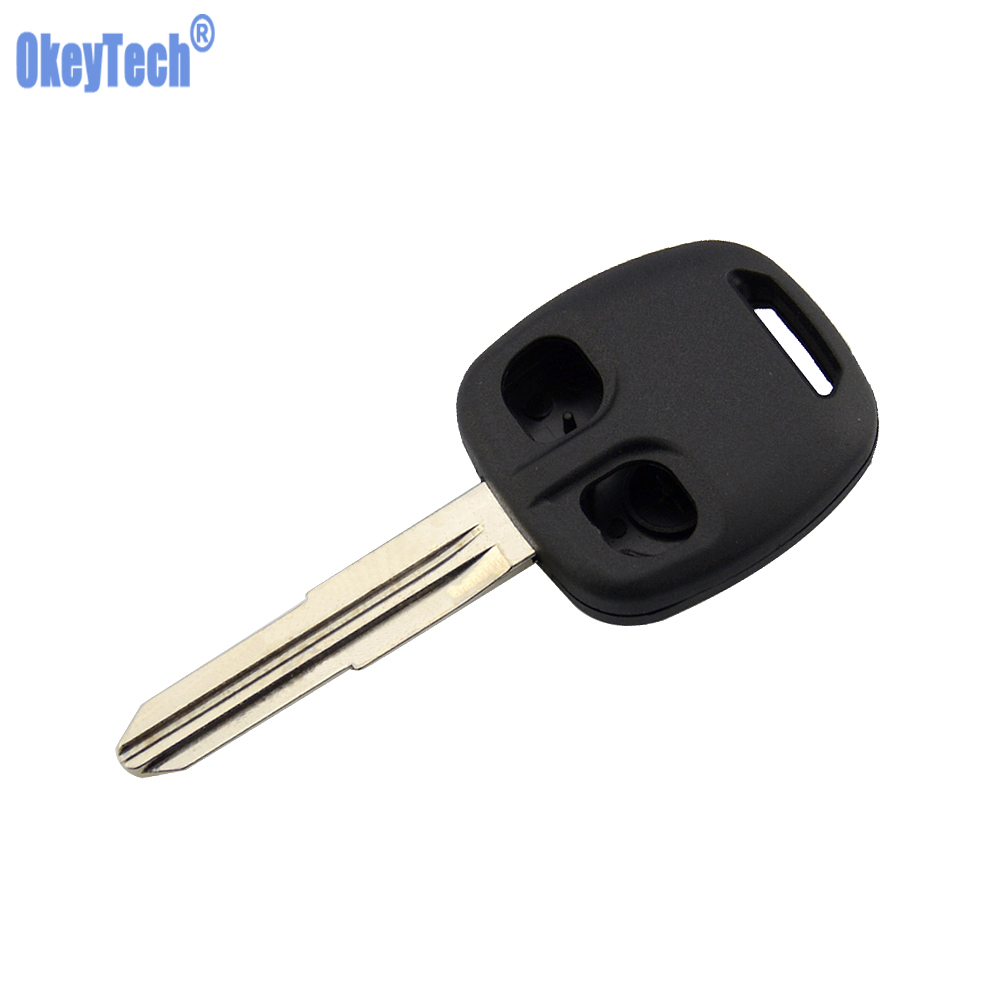 OkeyTech <font><b>Replacement</b></font> Car Remote <font><b>Key</b></font> Shell Case Fob 2 Buttons Right/Left Blade for <font><b>MITSUBISHI</b></font> Lancer Evo <font><b>L200</b></font> Shogun Pajero <font><b>Key</b></font> image