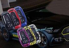 Для Ford Explorer Mustang с 4 или 5 кнопки Автомобилей Smart Key Shell Key Сумка Box protecter украшения отделка