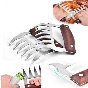 Cutters Puller Slicer Claw Bbq-Accessories Cooking-Tool Vegetable Pork Beer-Opener Meat-Shredder