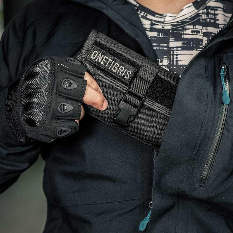 Onetigris Pouch Horizontal-Phone Nylon Molle 1000d for 8/8-Plus X ARMOR ZERO