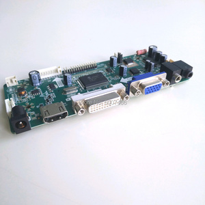 "Image 3 - สำหรับB154EW02 V0 V1 HDMI DVI VGA LCD Monitorแผง1280*800 15.4 ""M.NT68676คอนโทรลเลอร์การ์ดLVDS 30Pin CCFL DIYชุด"
